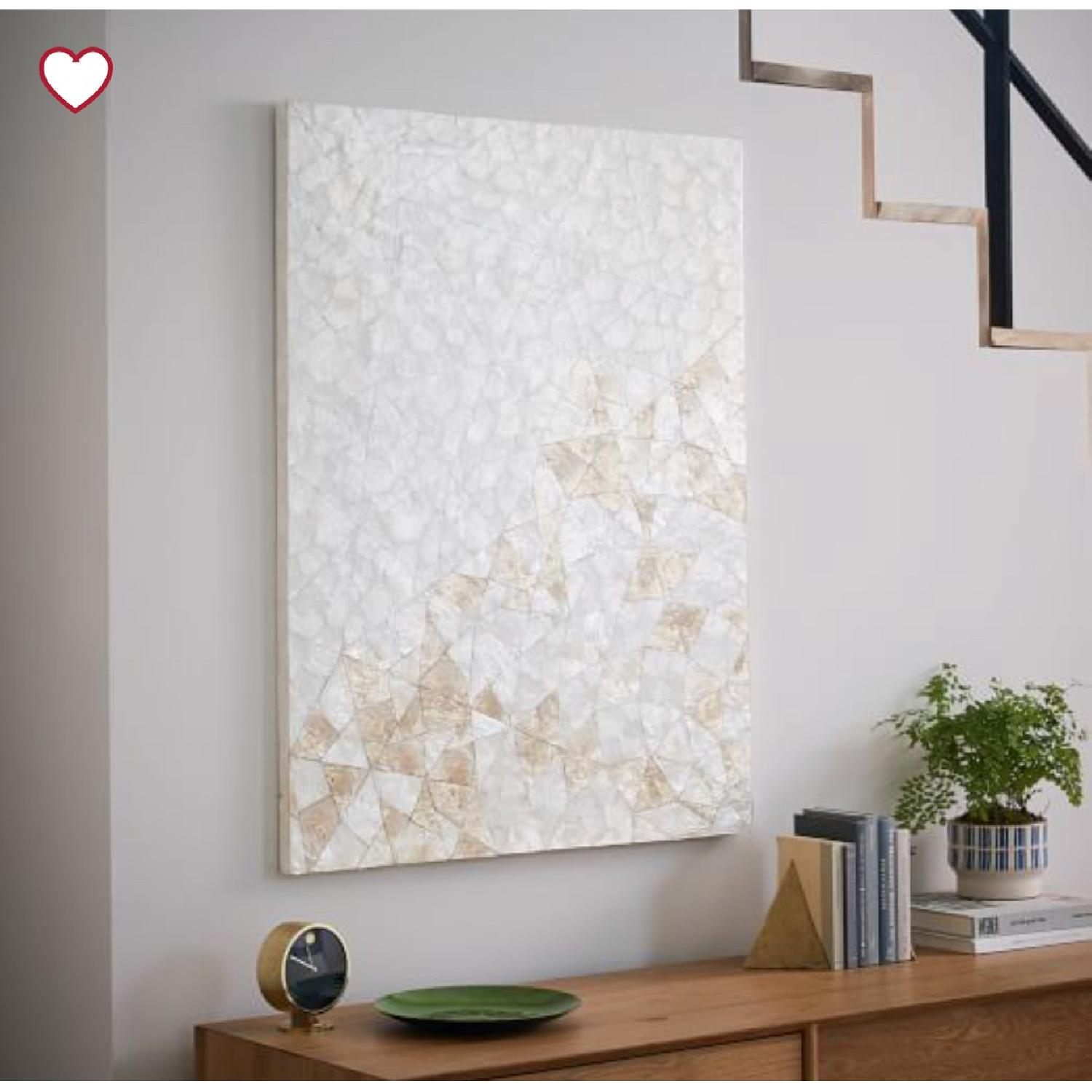 West Elm Capiz Wall Art - Crystal Formation-0