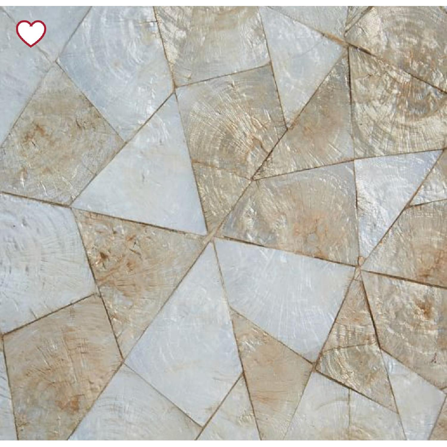 West Elm Capiz Wall Art - Crystal Formation-1