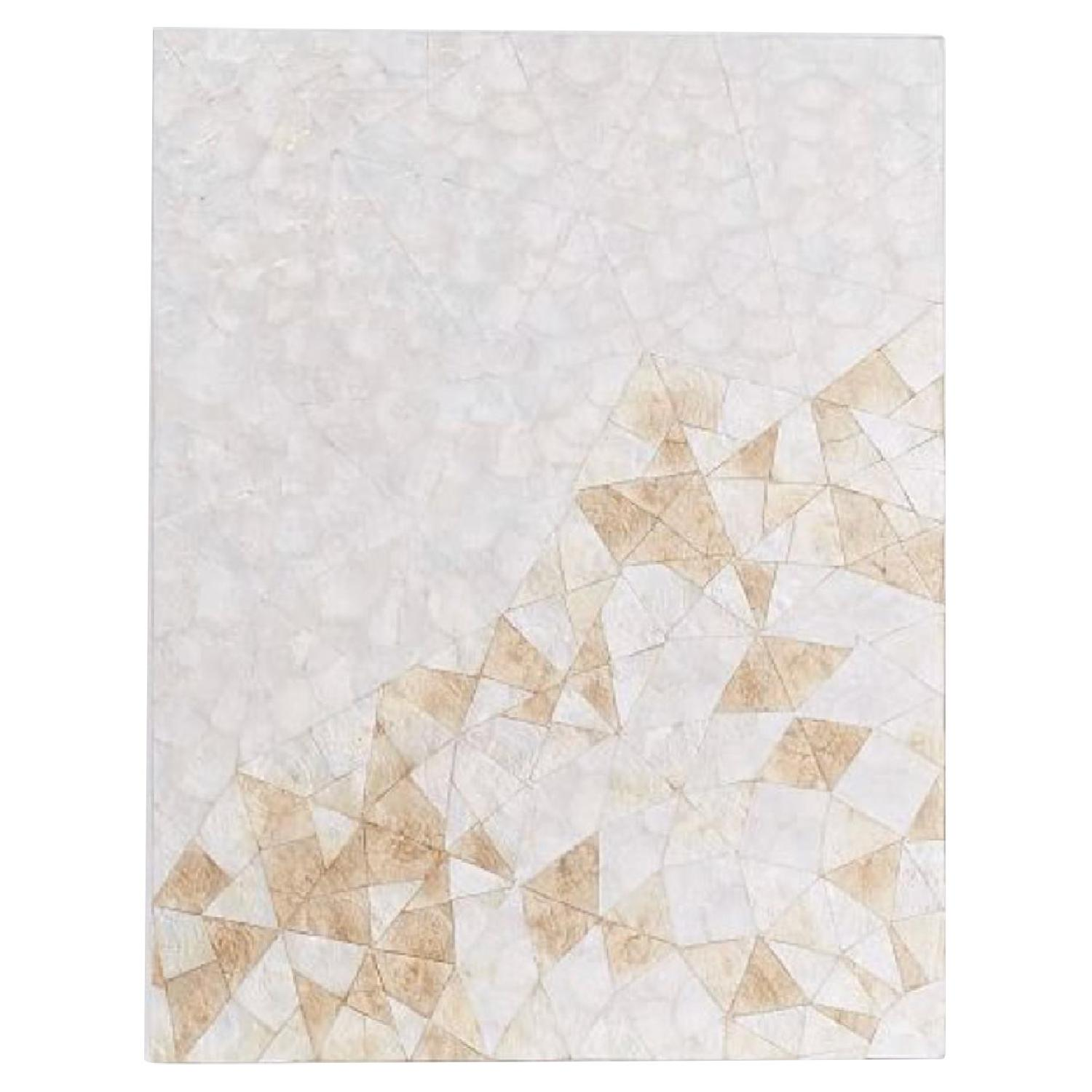 West Elm Capiz Wall Art - Crystal Formation