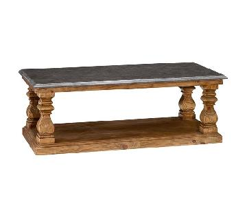 Pottery Barn Sutton Coffee Table