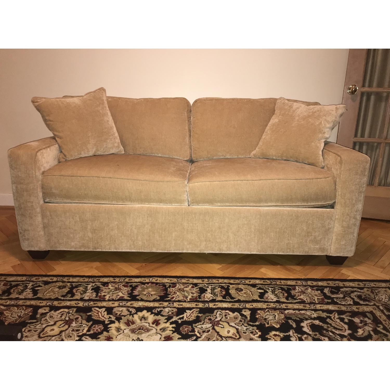 Beige Sleeper Sofa-0