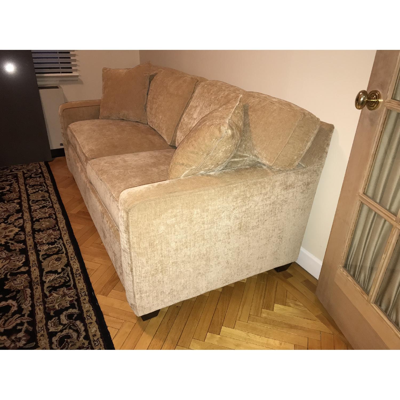 Beige Sleeper Sofa-1