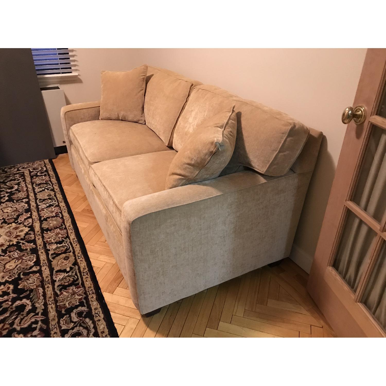 Beige Sleeper Sofa-3