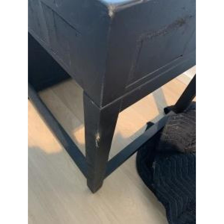 Restoration Hardware Printmaker's Wooden Desk-7