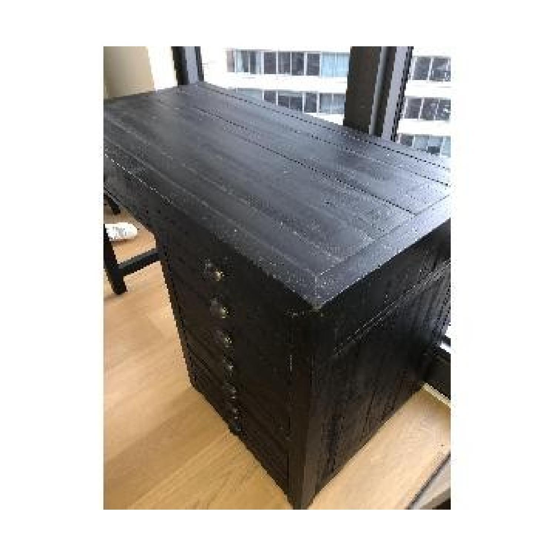 Restoration Hardware Printmaker's Wooden Desk-8