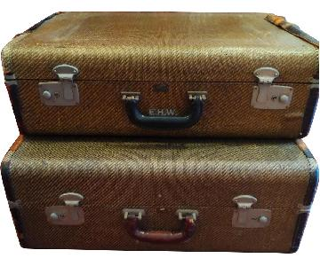 Vintage Suitcases/Storage Chests