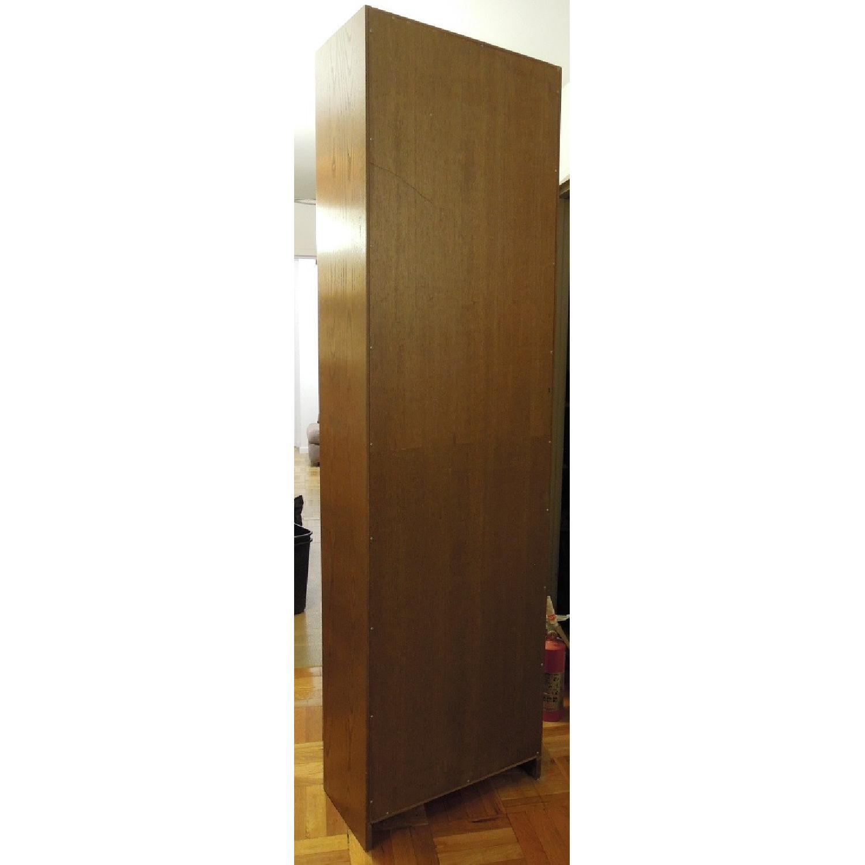 Narrow Wood Bookcase-2