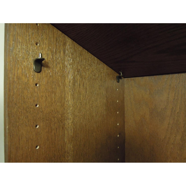 Narrow Wood Bookcase-3