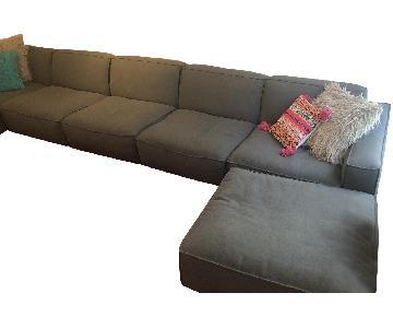 Restoration Hardware Como Custom Modular Sofa