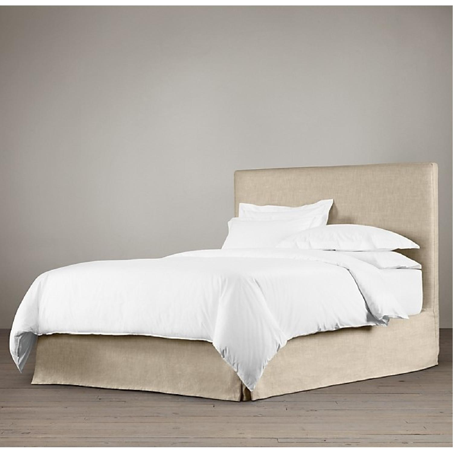 Restoration Hardware Linen Full Bed-3