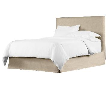 Restoration Hardware Linen Full Bed