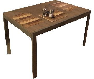 Macy's Wood Dining Table