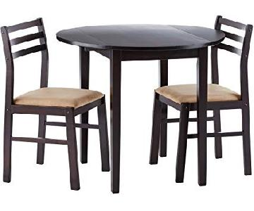 Coaster Fine Furniture 3 Piece Dining Set