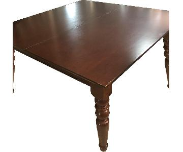 Pottery Barn Expandable Dining Table