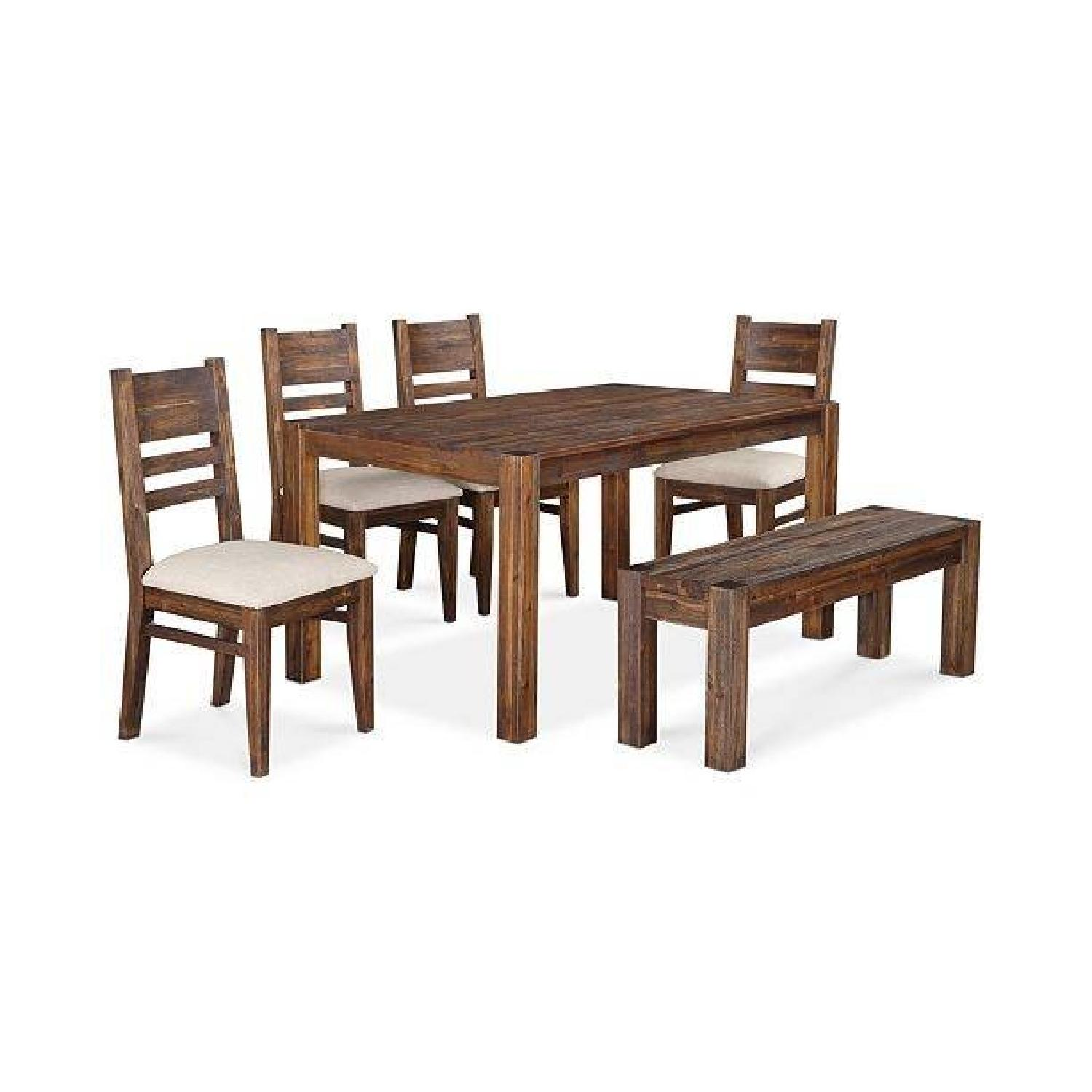 Macy's Avondale Dining Table w/ 4 Chairs & Bench