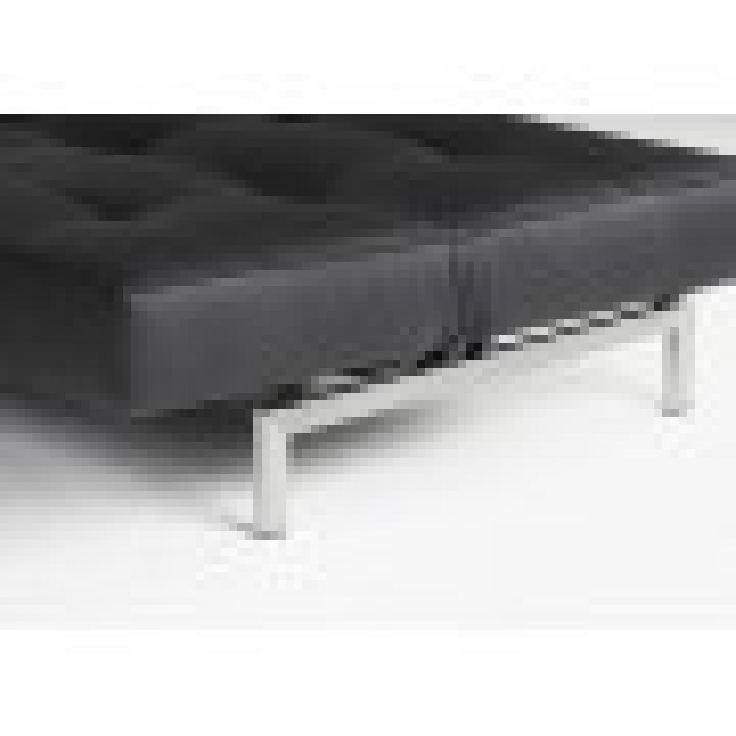Innovation Splitback Arm Sofa Bed w/ Stainless Steel Legs