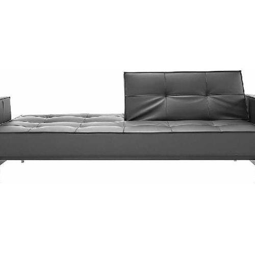 Innovation Splitback Arm Sofa Bed w/ Stainless Steel Legs
