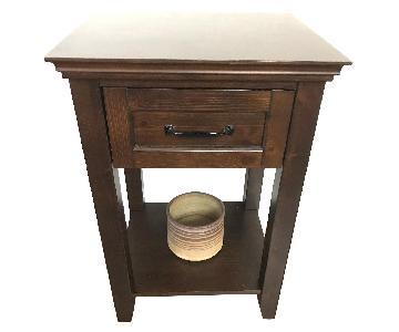Pottery Barn Beadboard Nightstands/Side Tables