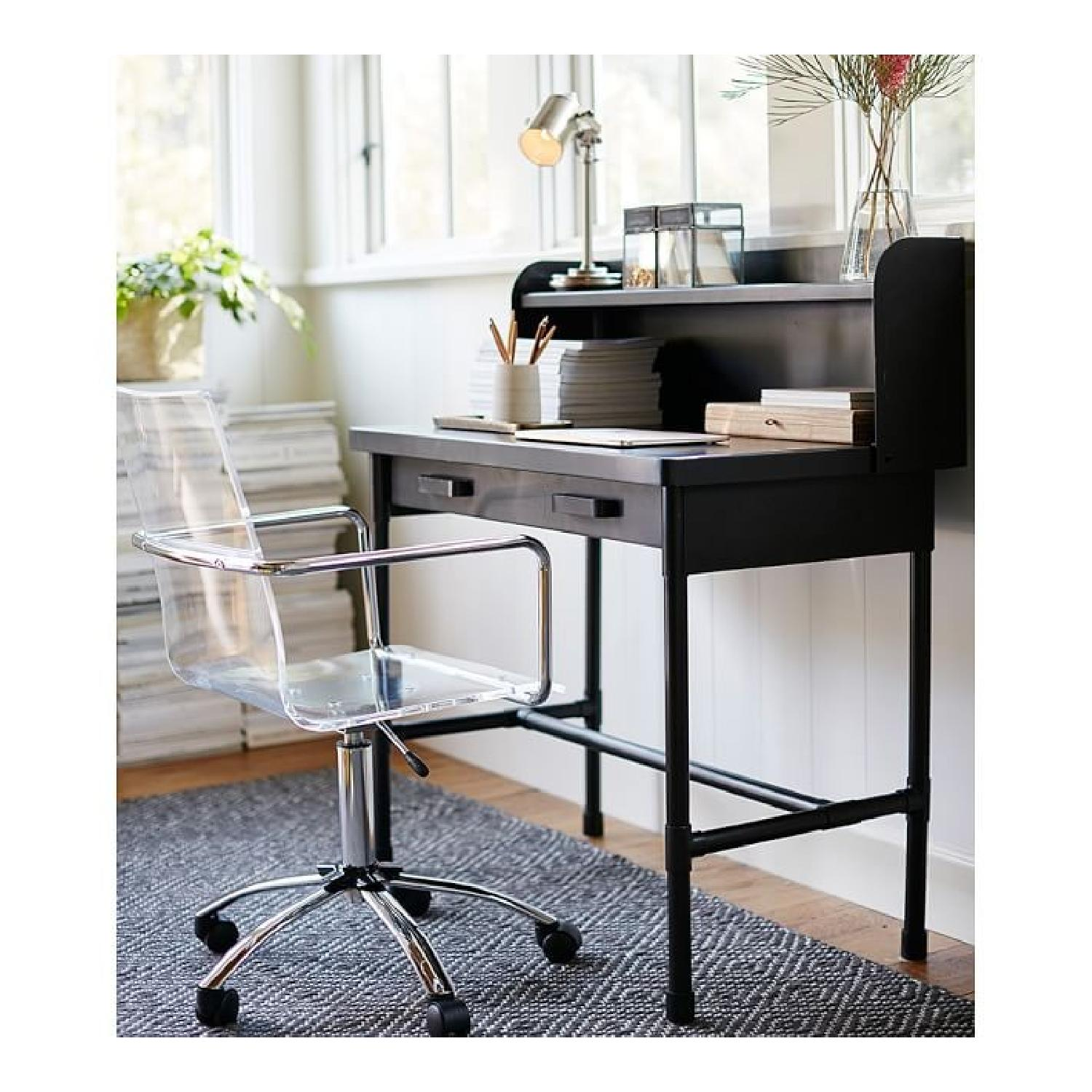 Pottery Barn Knox Small Metal Desk