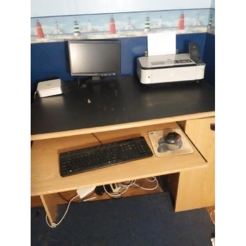 Wood Computer Desk-1