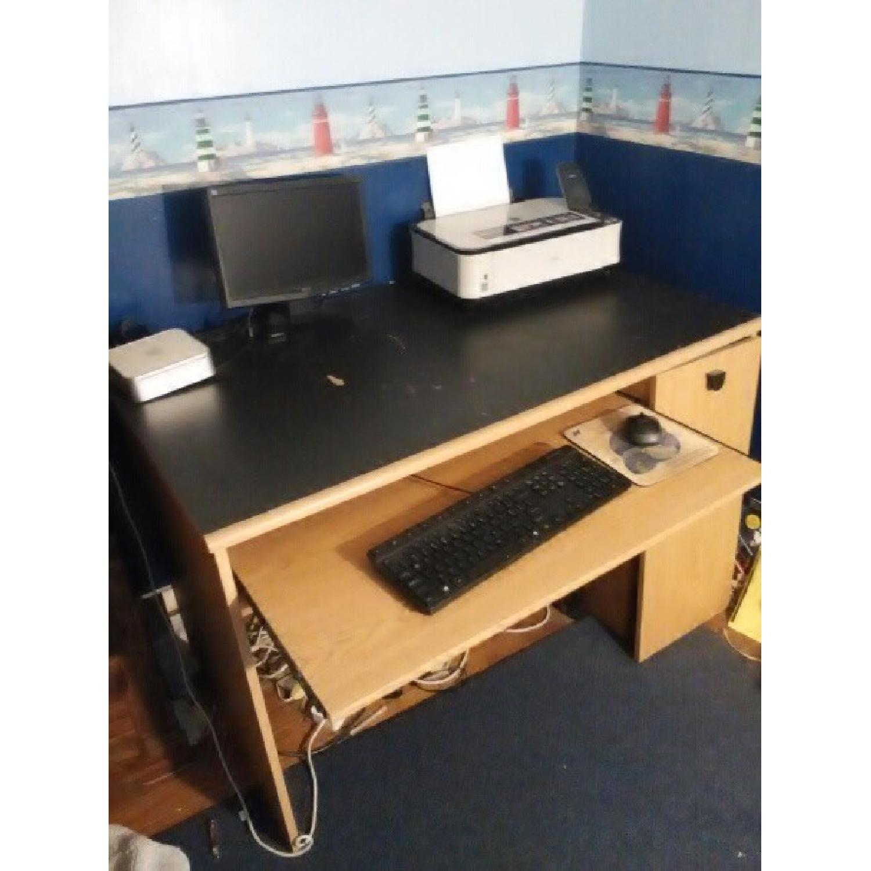 Wood Computer Desk-2