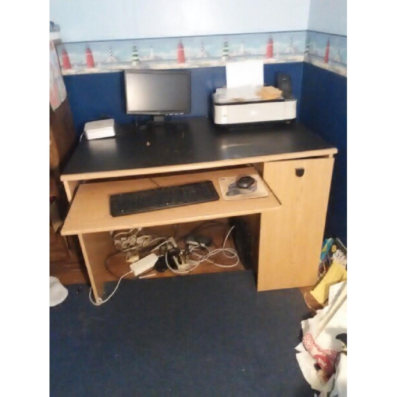Wood Computer Desk-3