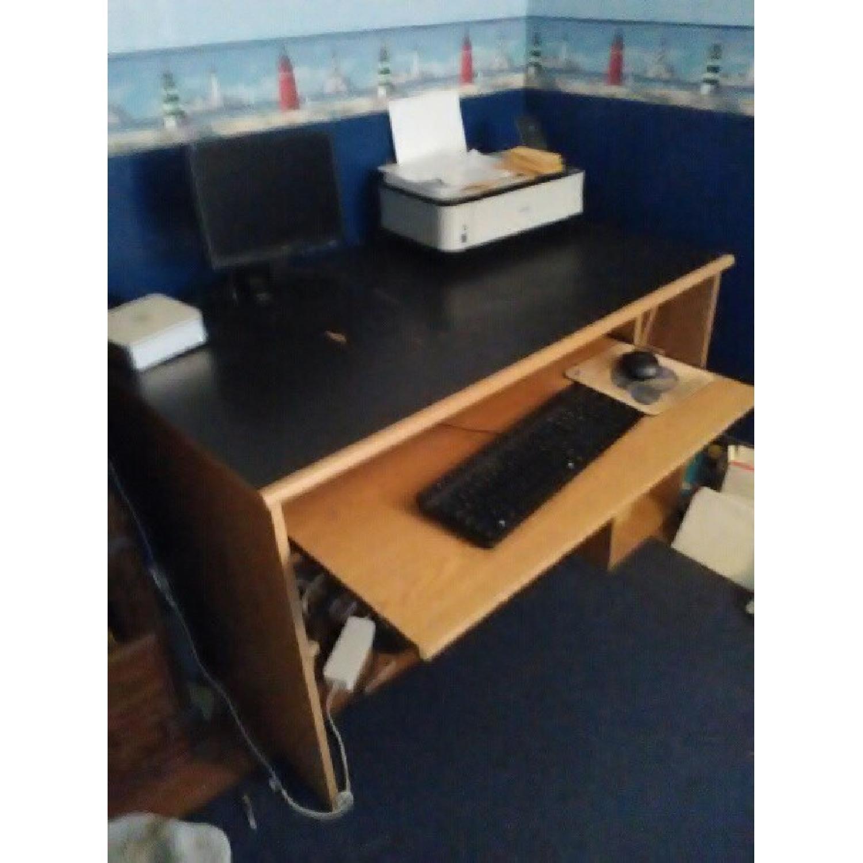 Wood Computer Desk-4