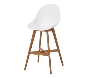 Ikea Fanbyn White Bar Stools