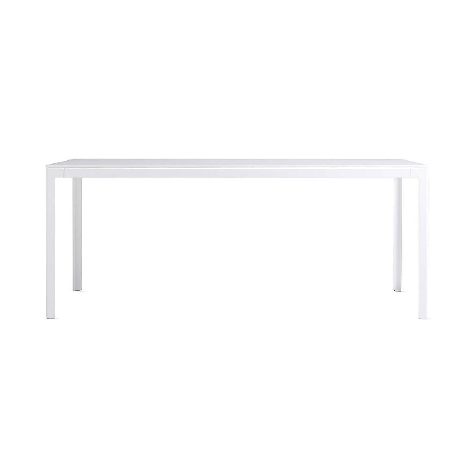 Design within Reach Large Min Table w/ White Powder-Coat