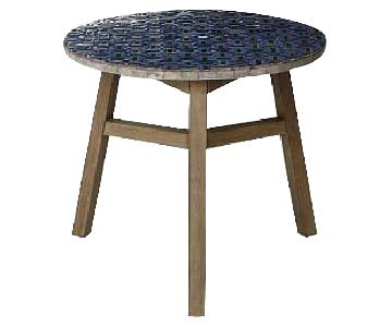 West Elm Mosaic Tiled Outdoor Bistro Table