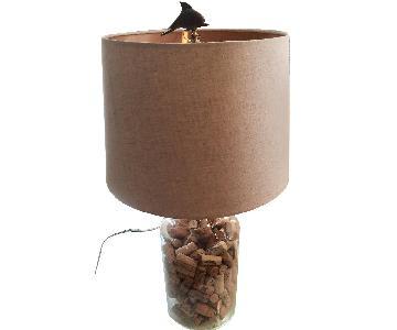 Cork Bottle Lamp w/ Wine Corks