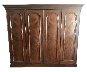 Antique 4 Door Armoire