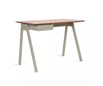BluDot Stash Desk in Walnut/Grey