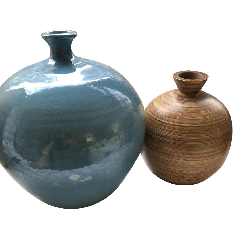 Crate & Barrel Vases