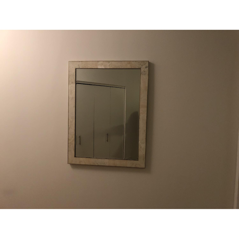 Williams Sonoma Home Marble Wall Mirror-2