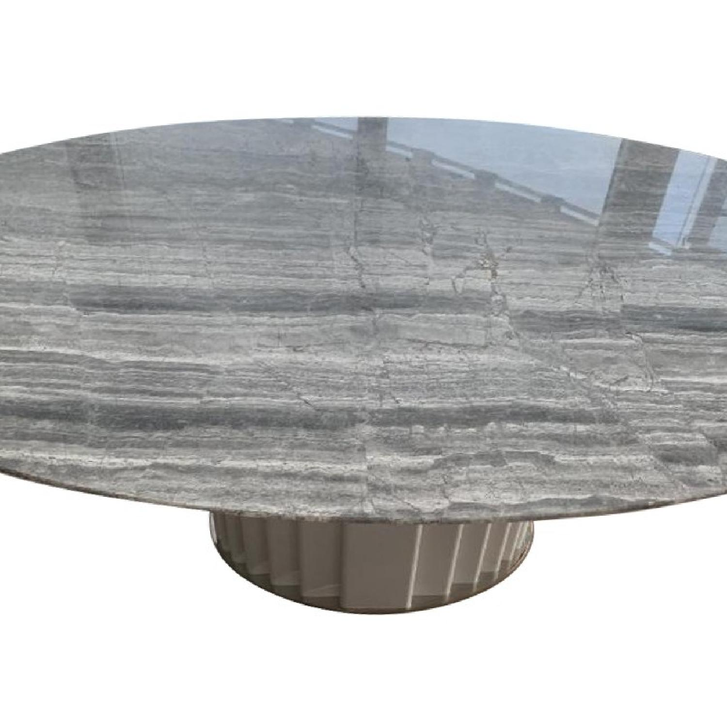 Italian Marble Top Dining Table