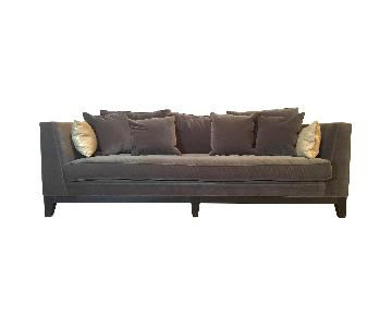 ABC Carpet and Home Grey Fabric Sofa