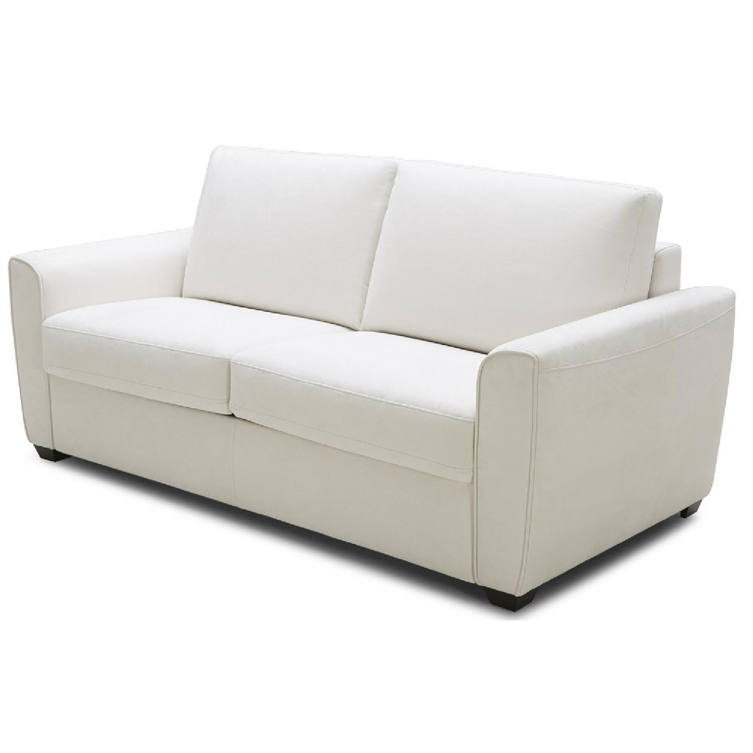 White Sofa Bed - image-1