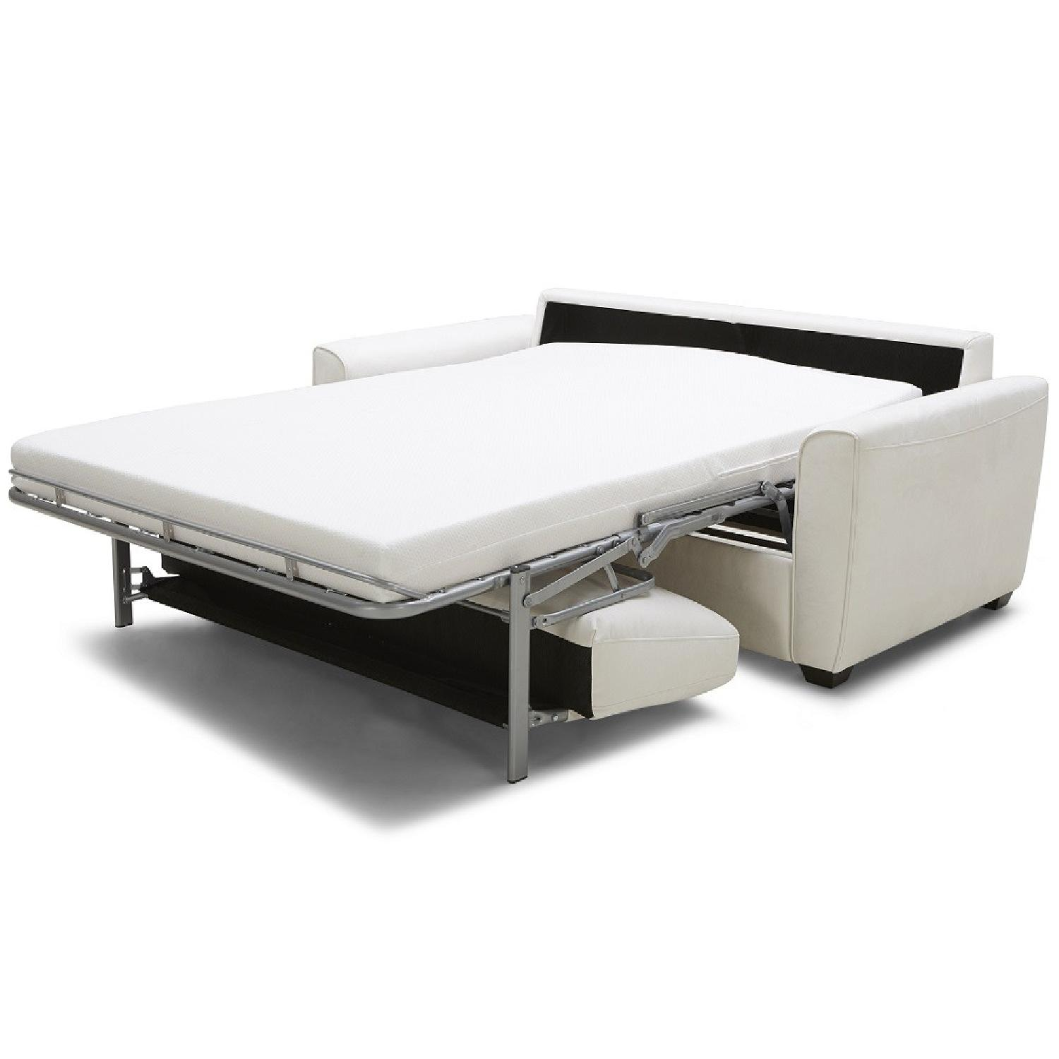 White Sofa Bed - image-2