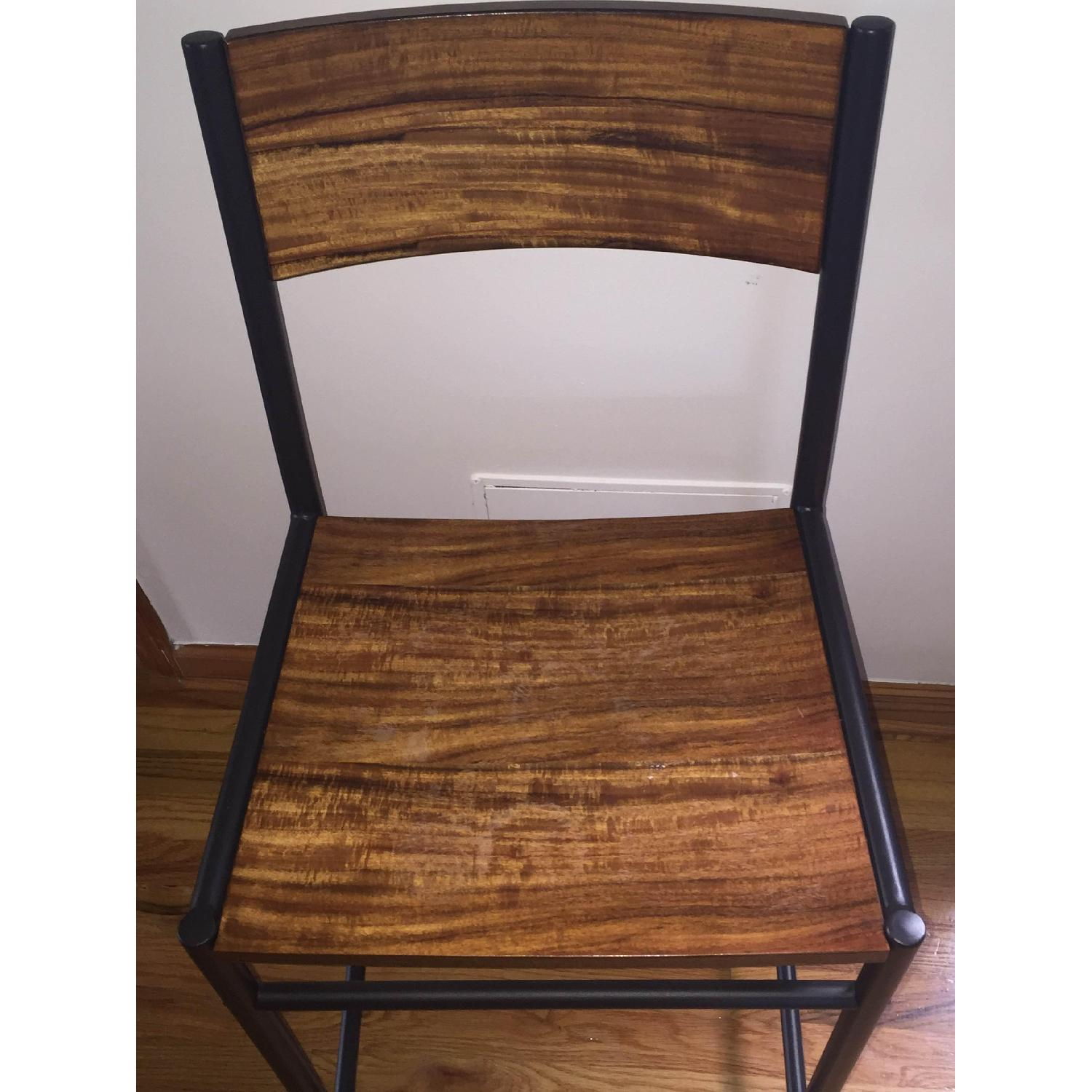 West Elm Table w/ 2 Chairs - image-5