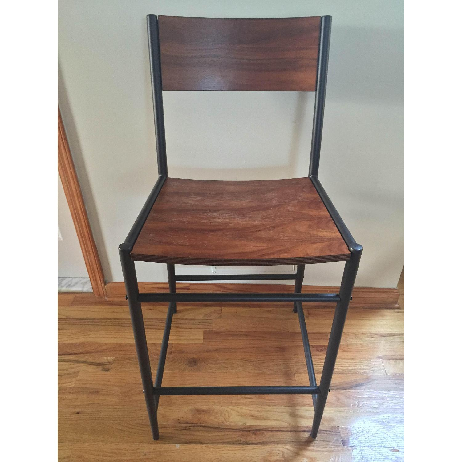 West Elm Table w/ 2 Chairs - image-7