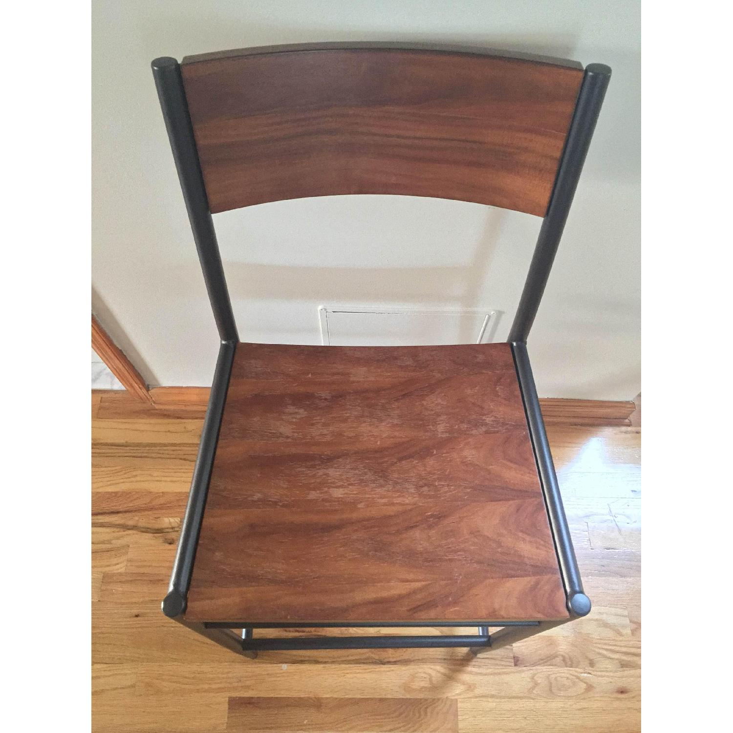 West Elm Table w/ 2 Chairs - image-8