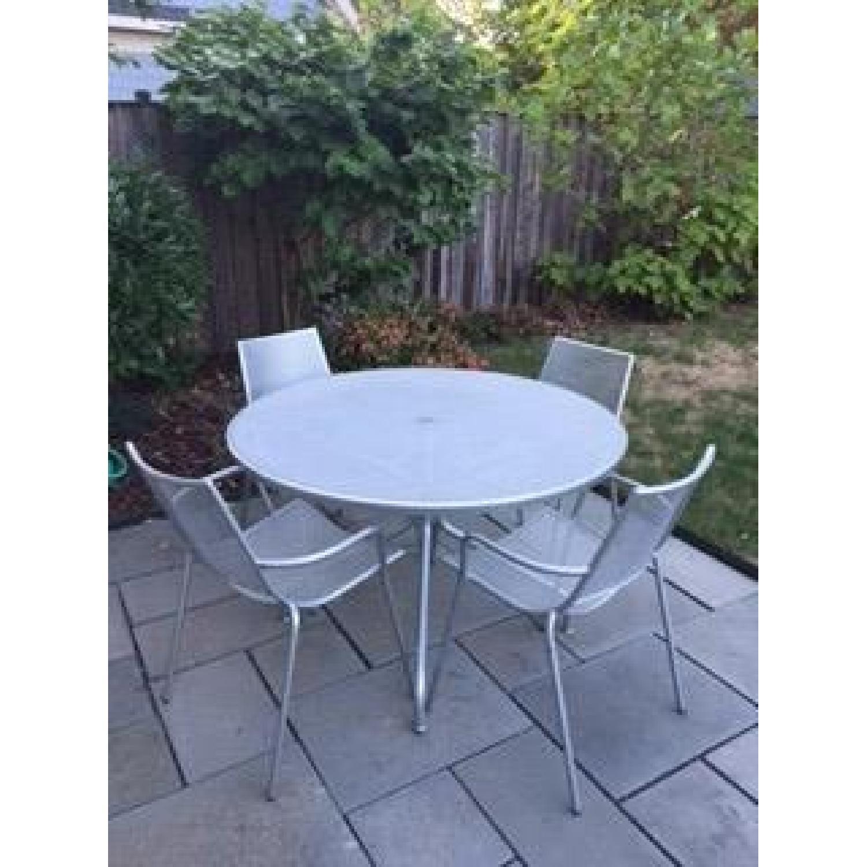 Room & Board Kona Outdoor Table w/ 4 Chairs - image-1