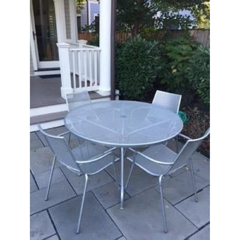 Room & Board Kona Outdoor Table w/ 4 Chairs - image-2