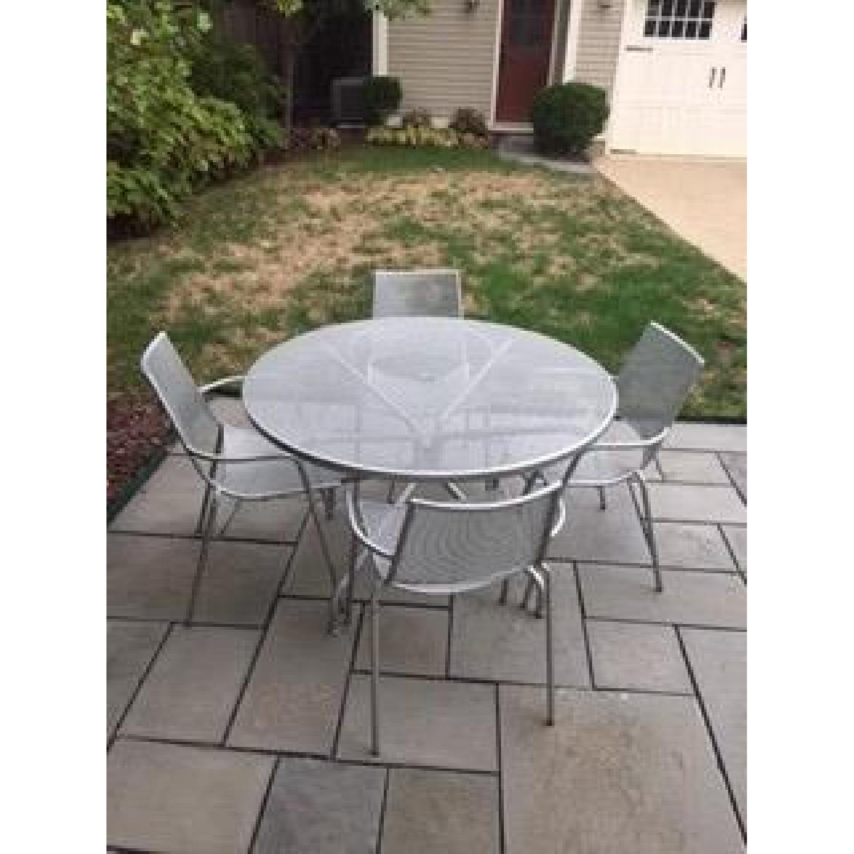 Room & Board Kona Outdoor Table w/ 4 Chairs - image-4