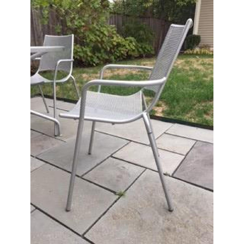 Room & Board Kona Outdoor Table w/ 4 Chairs - image-5