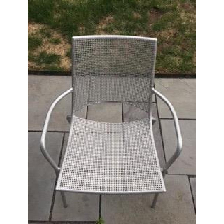 Room & Board Kona Outdoor Table w/ 4 Chairs - image-8