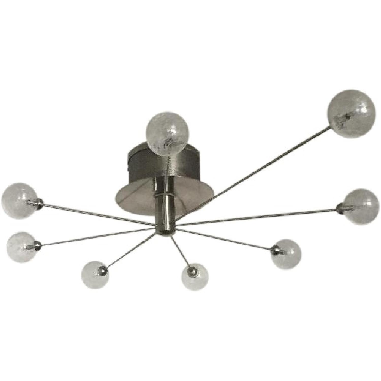 Modern Globe Light Fixture - image-0