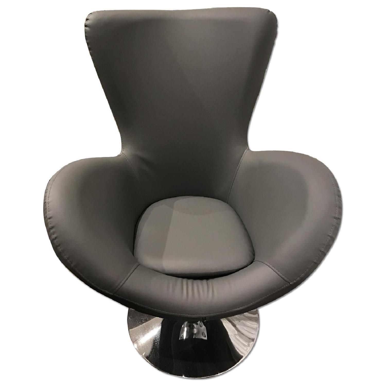 Grey Armchair - image-0
