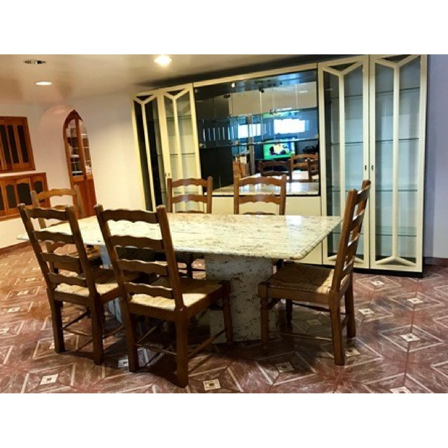 Granite Top Dining Table - image-1